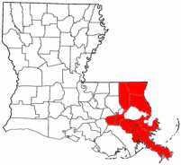 Our Southeast Louisiana Service Area