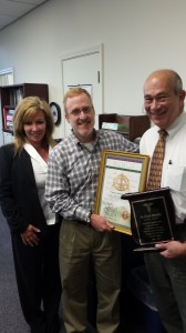 Dr. Frank Martello Honored for 30 Years of volunteer service as Director of the UCP Greater New Orleans Dental Clinic